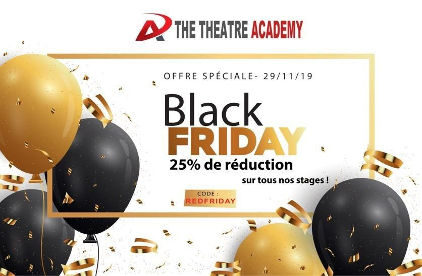 Promotion exceptionnelle Black Friday