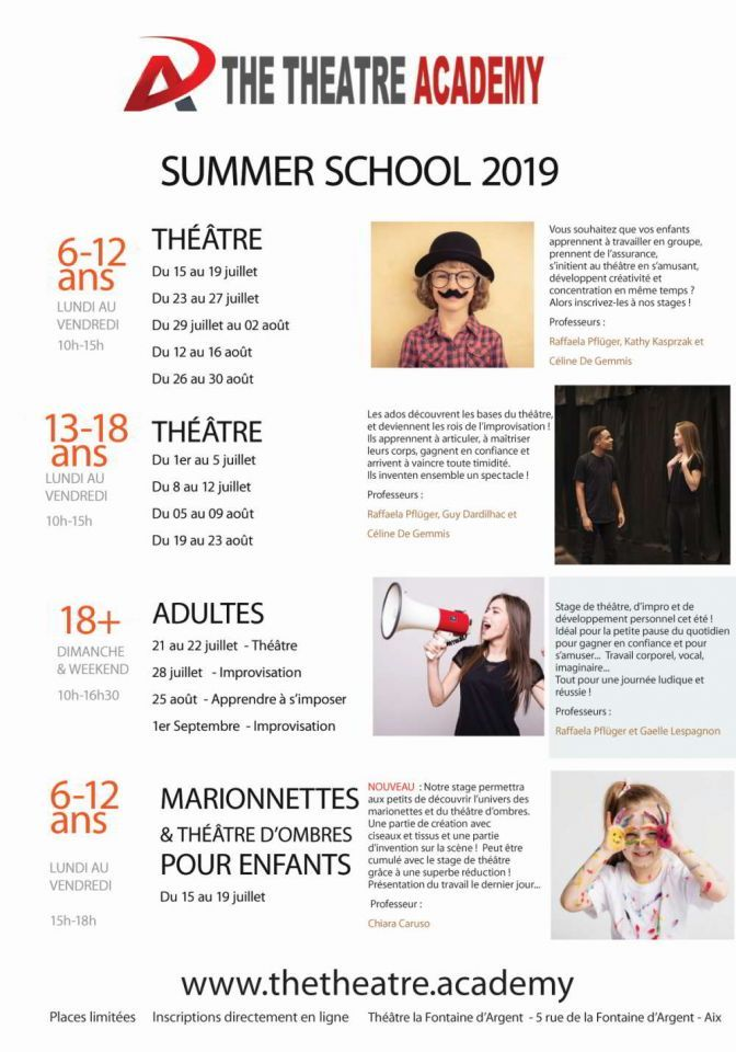 Summer School 2019 : Inscriptions ouvertes !
